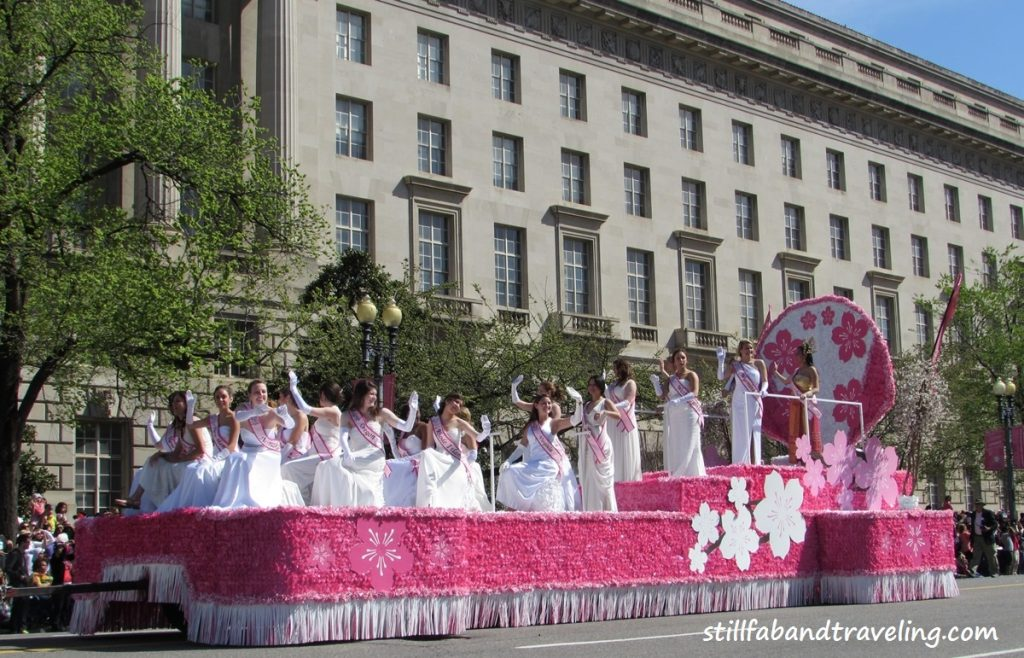 A Cherry float parade
