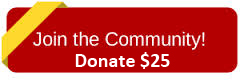 Join the community - donate $25