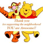 pooh and winnie pooh thank you